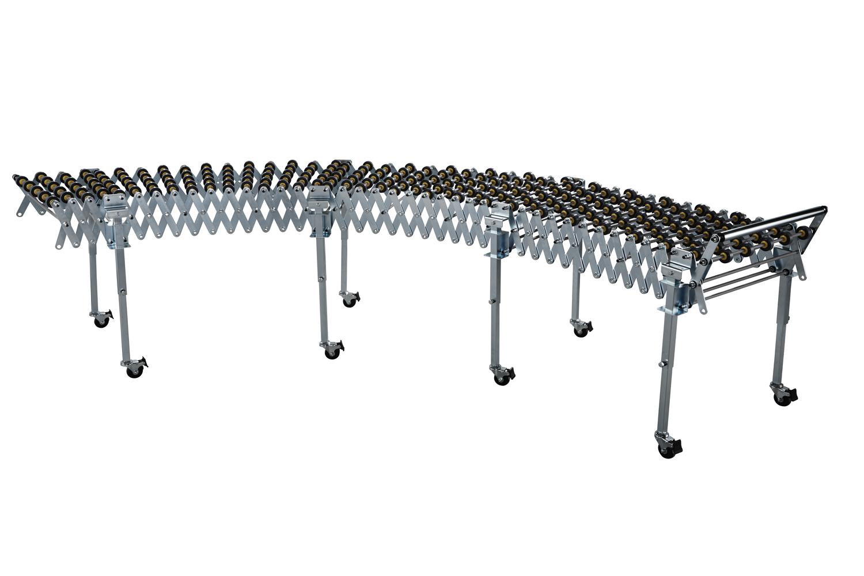 Rullebane Flexi-max lengde 4500mmxB 500mmxH  500-800mm